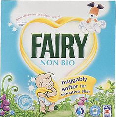 Fairy Non Biological Washing Powder  - the only powder that doesn't give my daughters excema