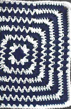 Ravelry: Optical Illusion pattern by Donna Mason-Svara