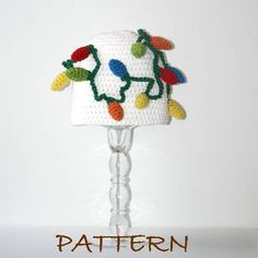 Crochet christmas hat pattern