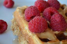Eggless Whole Wheat Waffles #breakfast #eggless #wholewheat