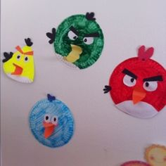 Paper Plate Angry Birds plate bird, plate angri, bird crafts, papers, learning, birds, angri bird, paper plates, kid