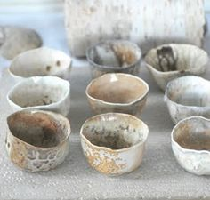 tea cups from whiteforestpottery