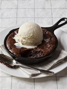 Skillet brownies from Barefoot Contessa