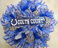 Indianapolis Colts Wreath