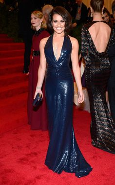 Lea Michele at the Met Gala 2012 #style #redcarpet #harpersbazaar #fashion #partysnaps #glamour