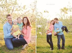 Family Session Spring Time // SB Childs Photography