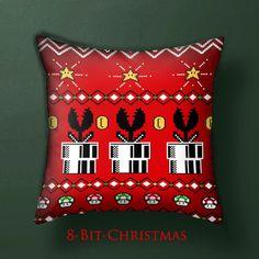 I made a Christmas pillow just for you! #nintendo #mario #xmas