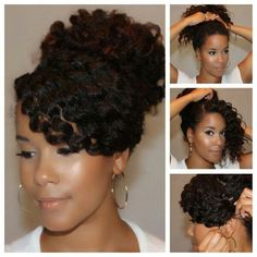 Nice style for a braid out