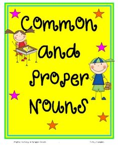 A great review of nouns! :)