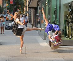 i wish i could just do this while i was walking along the street lol