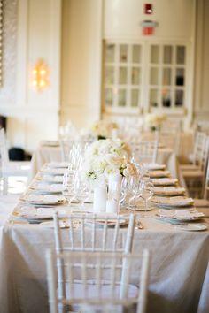 Gorgeous table setting in our Boston ballroom.   Photography: Mark Davidson - mark-davidson.com/