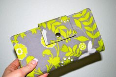 to do: make a cash envelope wallet -> this one is great!