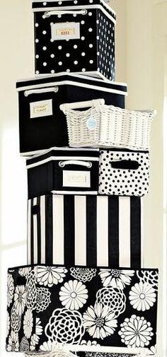 Black & White Storage