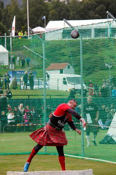 The Scottish Highland Games: Centuries old competitions measure a man's and a woman's strength and Scottish character.