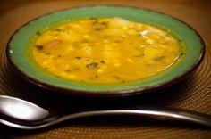 Super Easy Potato Corn Chowder - Daniel Fast Soups, Vegan, Danielfast, Potatoes Corn Chowders, Easy Potatoes, Food, Super Easy, Cookbooks, Daniel Fast Recipe