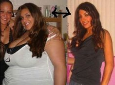 See what eating right and exercising can do? wow!!!