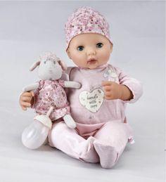 Baby Annabell Interactive Doll Version 6 Zapf Creation New FRATELLINI E SORELLINE DAL WEB...