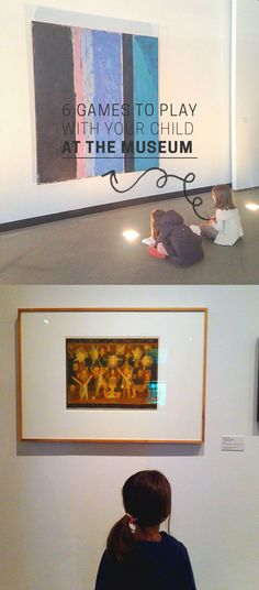 Great ideas for learning through play at art museums...