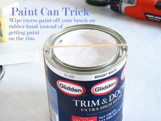 The Easy Way to Paint Window Trim | In My Own Style