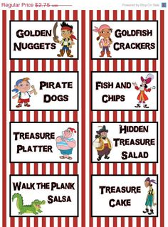 Pirate theme for parties