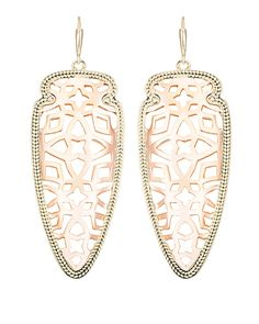 Sadie Spear Earrings in Rose Gold - Kendra Scott Jewelry. Coming July 16!