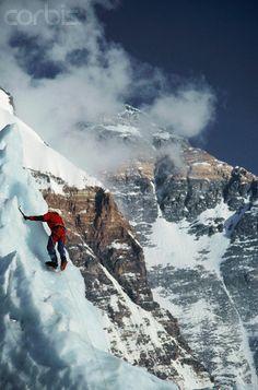 Ice Climbing on Mount Everest