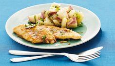 Slimming Lemon Chicken With Tarragon Potato Salad
