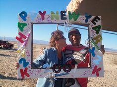 New Years Desert Party Frame