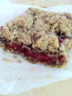 Made it, loved it! Raspberry Breakfast Bars!