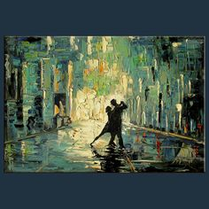 Cityscape Dance art-1696 by Milen