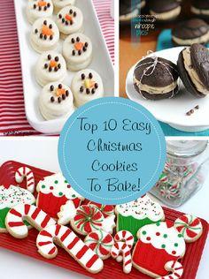 Top 10 Easy Christmas Cookies to Make