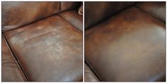 Getting rid of scratches on a leather sofa or perhaps car?