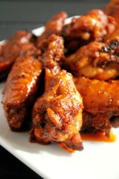 Spicy Baked Hot Wings - Creole Contessa