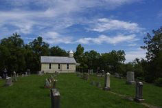 Only in Marion County WV is there a cute and tiny church on a beautiful hilltop- that is also haunted (supposedly). haunt church