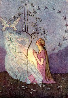 Illustration by Florence Harrison.