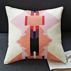 Alyson Fox Triangles Pillow Cover | west elm