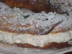 Rosca o roscon de Reyes relleno ~ Pasteles de colores