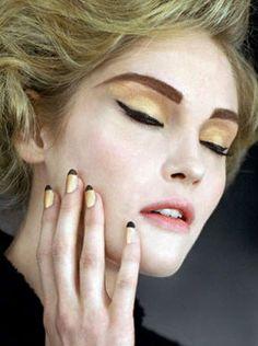 Chanel Gold Nail Polish