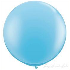 """36"""" Round Balloon: Baby Blue"""