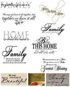 ☜♡☞  Wall Decals x
