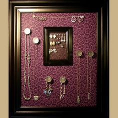 Gorgeous Magnetic Jewelry display boards!  from Attractive Boards