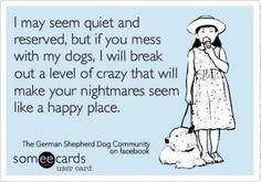 Yep.. crazy dog mom lol