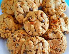 Peanut Butter Chocolate Chip & Pretzel Cookies!