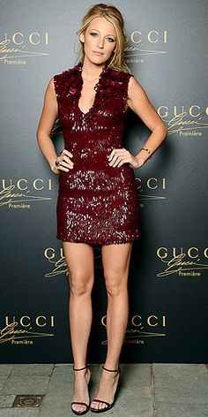 Oh Blake Lively. To have your legs and your closet...