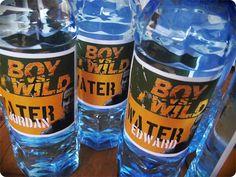 Greatfun4kids: Boy vs Wild Party - How To's & Printables