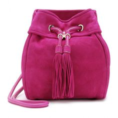 Salvatore Ferragamo Haley Nubuck Leather Shoulder Bag