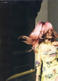 Pink + Prada.