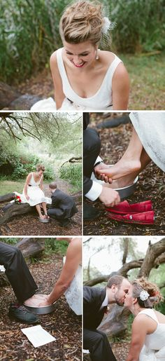 What a way to  show you love each other! And they'r wearing Toms! :D
