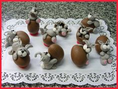 Tutorial Very quickly, very simply - funny bunnies :) - CakesDecor