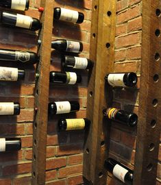 Reclaimed Wooden Wine Rack - click pic for 20+ ideas - #recycledfurniture